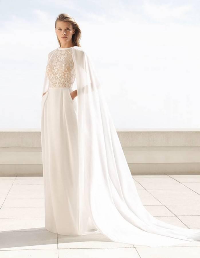 tendencias en los vestidos de novia 2018 de rosa clará - wedadvisor