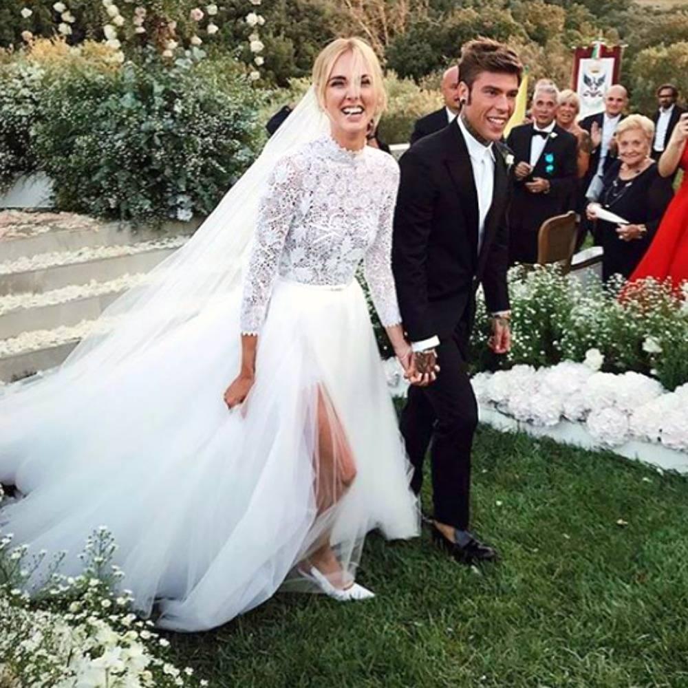bca3e8bb98 Chiara Ferragni tuvo diferentes looks durante el evento. Comenzó con un  estilismo clásico y romántico de la mano de un diseño maravilloso de Alta  Costura de ...