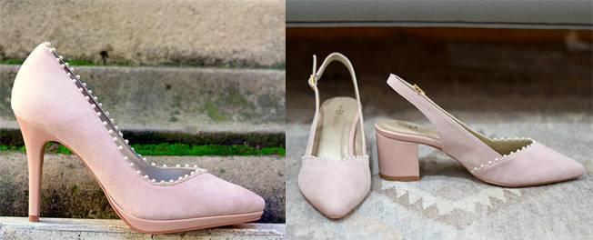 segundo zapato de la novia: salones bajos