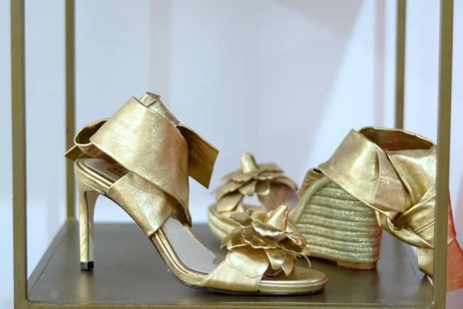 segundo zapato de la novia: cuñas